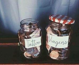 money, Dream, and tattoo image