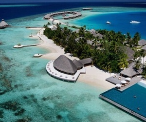 sea, Maldives, and beach image