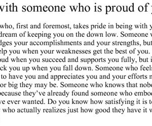 quote, love, and proud image