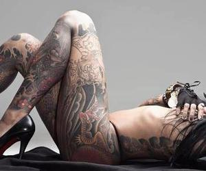 tattooed and sexy image