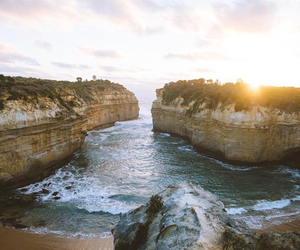 australia, landscape, and sea image