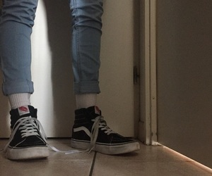 aesthetic, pale, and vans image