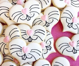 Cookies, easter, and hearts image