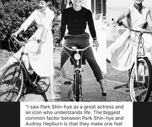 audrey hepburn, icon, and princesses image