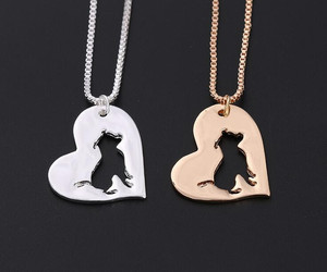 dog, necklace, and pet image