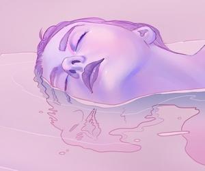 art and purple image