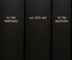 quotes, art, and black image