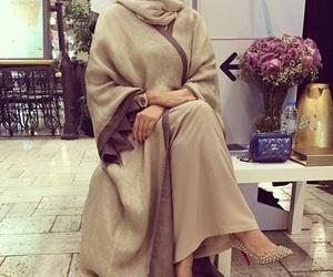 hijab, abaya, and fashion image