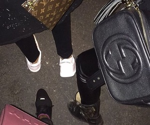 gucci, shoes, and bag image