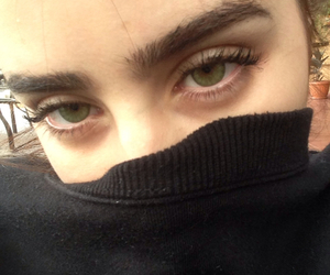 grunge, eyes, and green eyes image