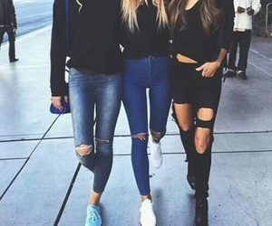 fashion, friends, and style image