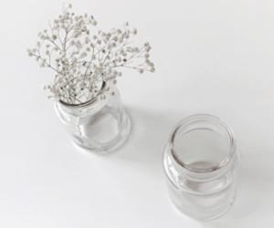 decor, flowers, and minimalism image