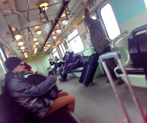 budapest, metro, and winter image