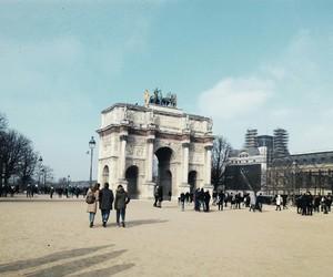 arc de triomphe, france, and paris image