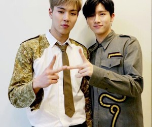 i.m, shownu, and kpop image