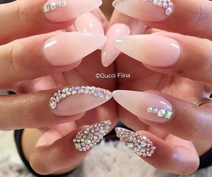 diamond, nails, and art image