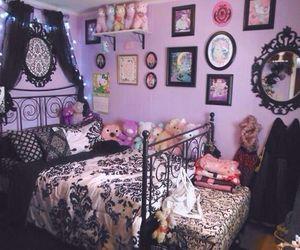 room, bedroom, and kawaii image