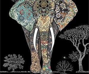 background, boho, and gypsy soul image
