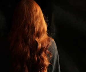 hair, redhead, and red hair image