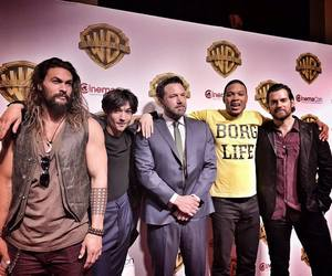 justice league, Ben Affleck, and Henry Cavill image