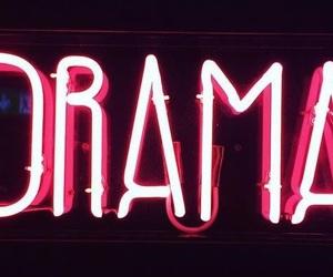 drama and pink image