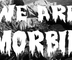horror and text image