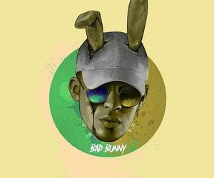 amarillo, verde, and bad bunny image