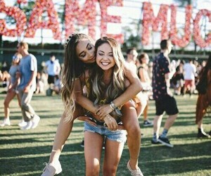 coachella, friendship, and meredith foster image