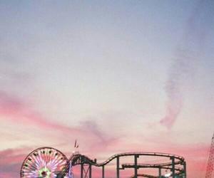 sky, fun, and pink image