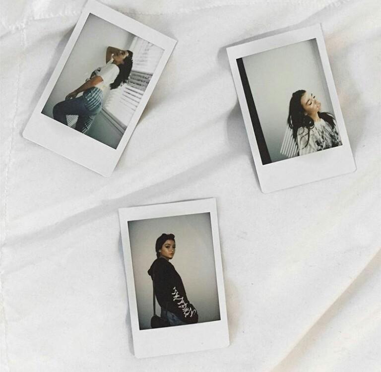 polaroid and kelsey simone image