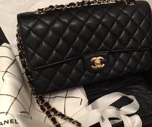 bag, purse, and chanel image