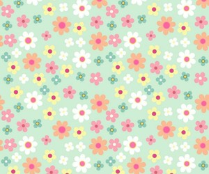 flower, pattern, and wallpaper image