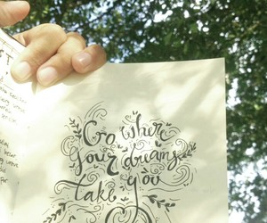 art, doodle, and handlettering image