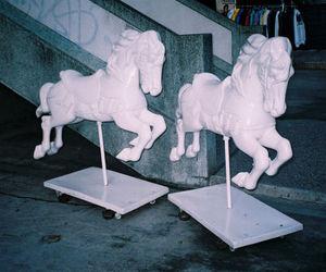 horse, unicorn, and white image