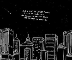 quotes, sad, and black image