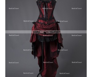 gothic dress, gothic party dress, and gothic prom dress image