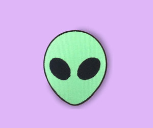 alien, etsy, and patch image