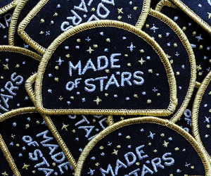 patch, stars, and aesthetic image