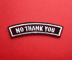 patch and no thank you image