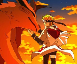 naruto, kurama, and anime image
