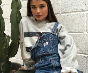 cute girl, tommy hilfiger, and cute nose image