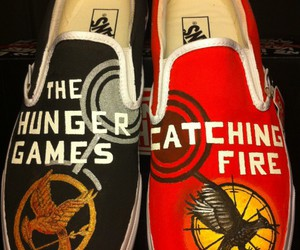 shoes, hunger games, and catching fire image