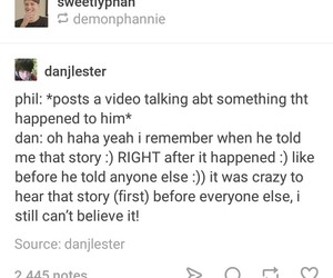 funny, tumblr, and amazingphil image