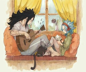 fairy tail, gale, and gajeel image