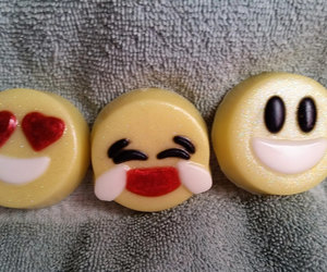 etsy, laughing, and glycerin soap image