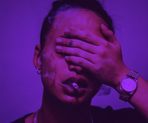 keith ape, artist, and cigarette image