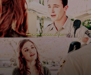 teen wolf, ryan kelley, and holland roden image