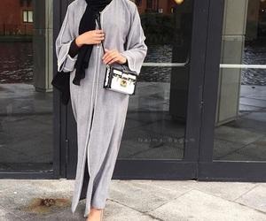 abaya, beauty, and fashion image
