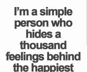 quotes, feelings, and smile image