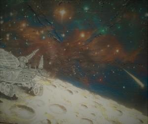 art, drawing, and mars image